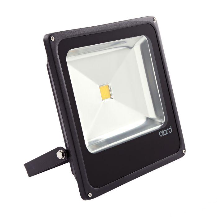 Faro Proiettore LED 50W con Struttura Nera