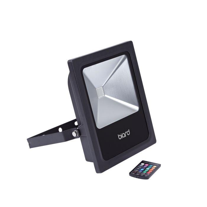 Faro Proiettore LED 60W RGB Rosso Verde Blu con Telecomando