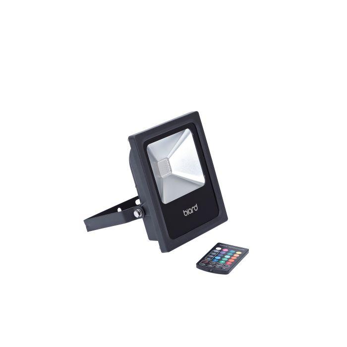 Faro Proiettore LED 20W RGB Rosso Verde Blu con Telecomando