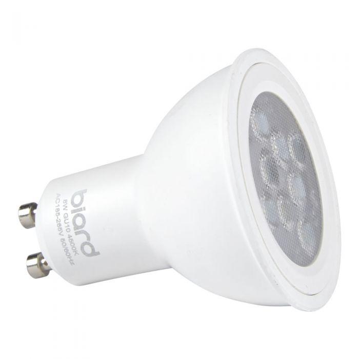 Faretto Spot LED GU10 da Soffitto 8W Equivalente a 50W