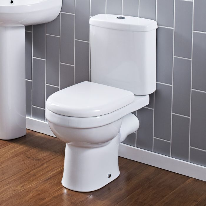 Sanitario Bagno WC Moderno con Scarico Orizzontale