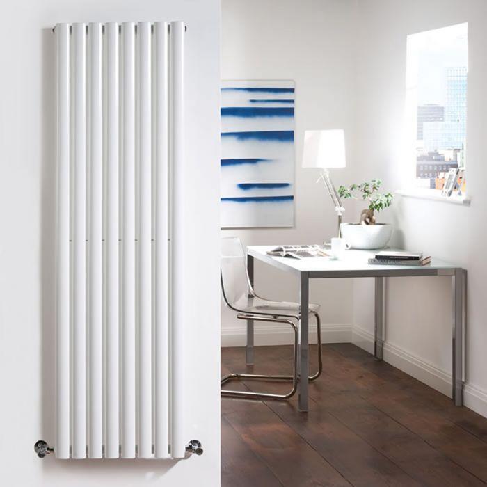 Radiatore di Design Verticale  - Bianco - 1780mm x 472mm x 56mm - 1190 Watt - Revive