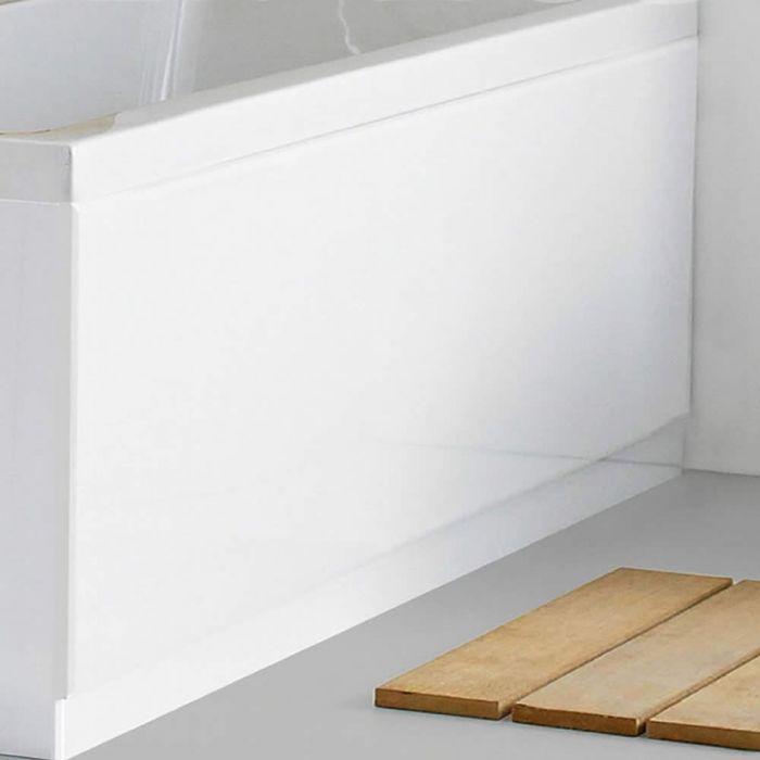 Pannello Vasca Frontale 1700 MDF Bianco Laccato