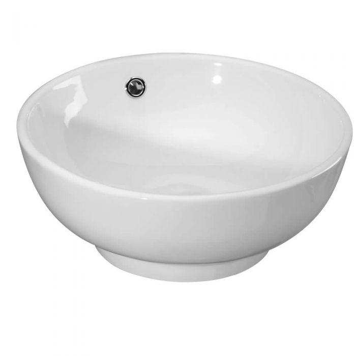 Lavabo a Bacinella da Appoggio in Ceramica 40cm
