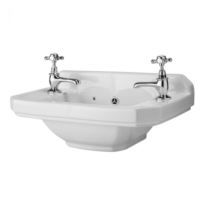 Lavabo Bagno Sospeso Retro 51x30 cm Old London