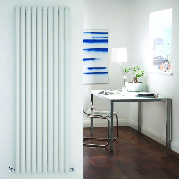 Radiatore di Design Verticale - Bianco - 1780mm x 590mm x 55mm - 1487 Watt - Revive