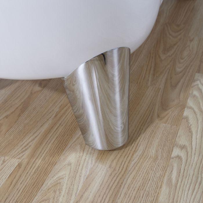 Piedi Moderni Cromati per Vasca Freestanding
