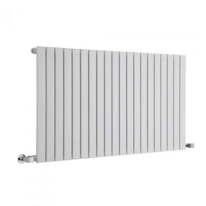 Radiatore di Design Orizzontale  - Bianco - 635mm x 1180mm x 54mm - 1203 Watt - Sloane