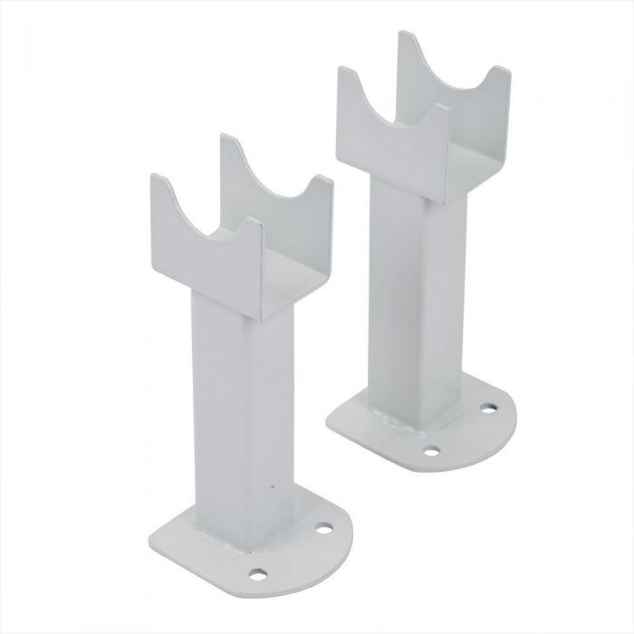 Piedini di Supporto per Radiatori Verticali Fin colore Bianco