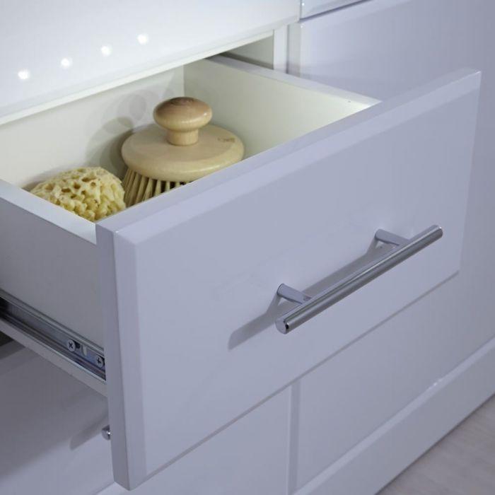 Barra a LED per Mobile o Armadietto Bagno e Cucina con Sensore di Movimento