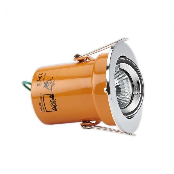 Faretto LED Downlight Soffitto GU10 240V con Struttura di Colore Bianco