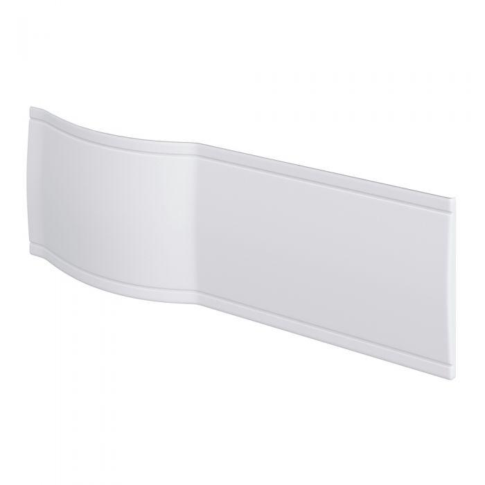 Pannello Vasca Frontale Curvo Bianco 150cm