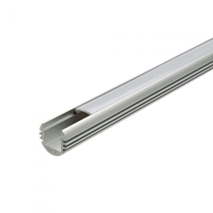 Copertura Alluminio Circolare per Illuminazione LED 100cm