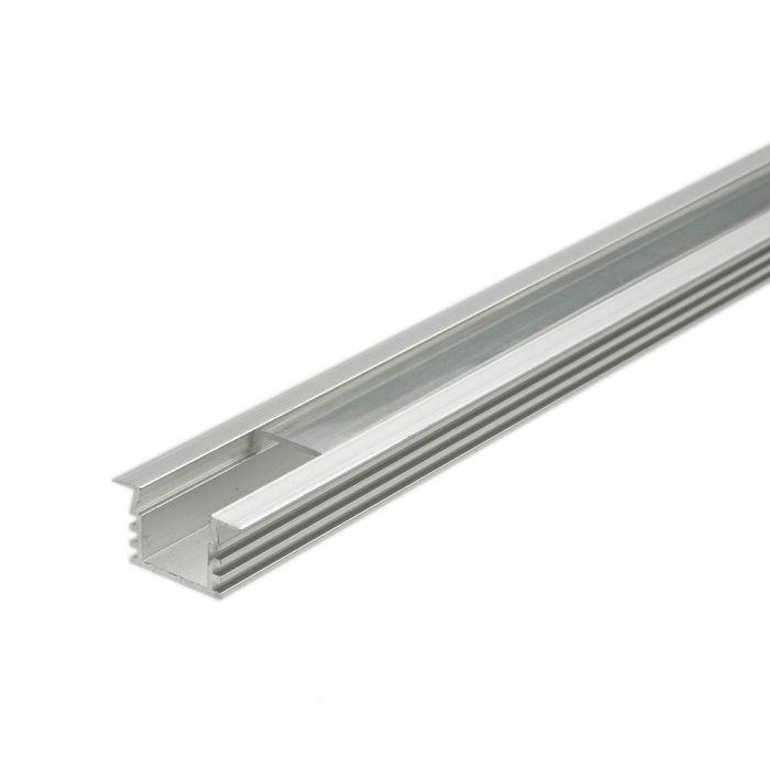 Copertura Alluminio per Illuminazione LED 100cm