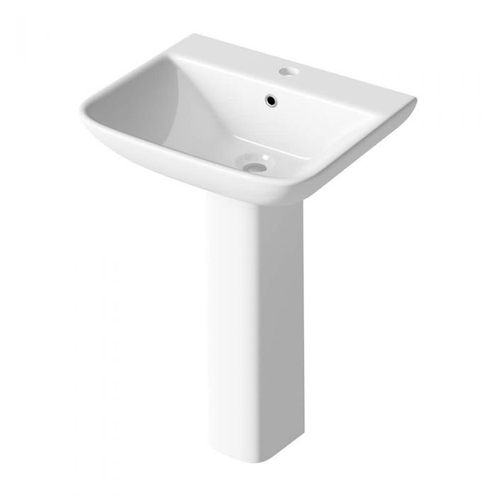 Lavabo su Colonna 550mm