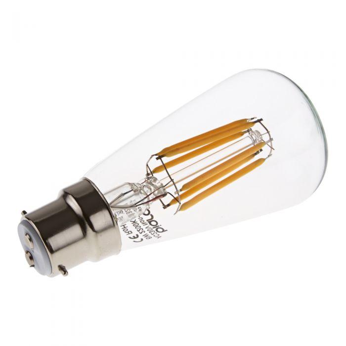 Lampadina a Filamento LED B22 6W