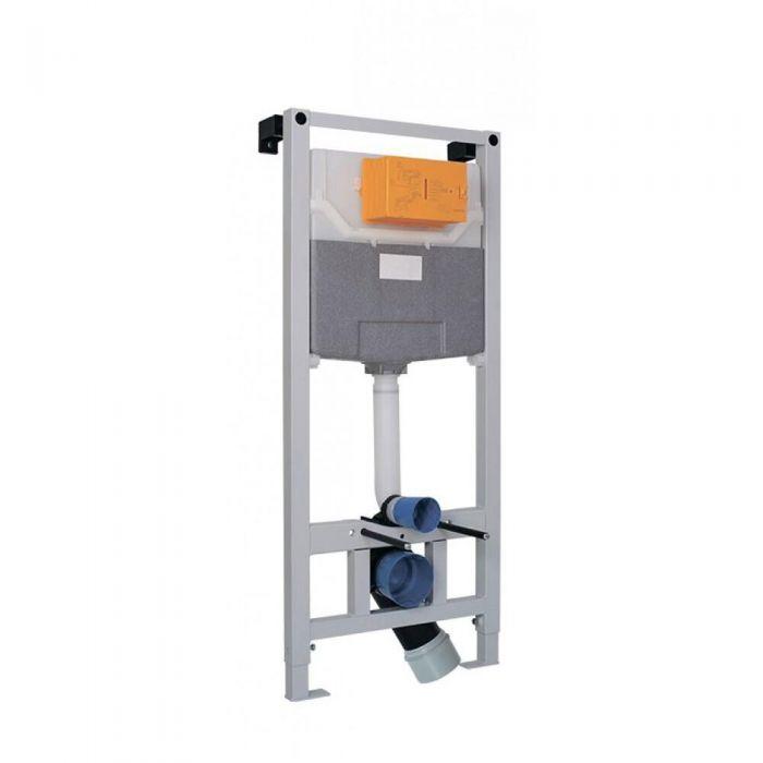 Telaio per Cassetta WC per Vasi Sospesi ad Incasso 11150x500mm