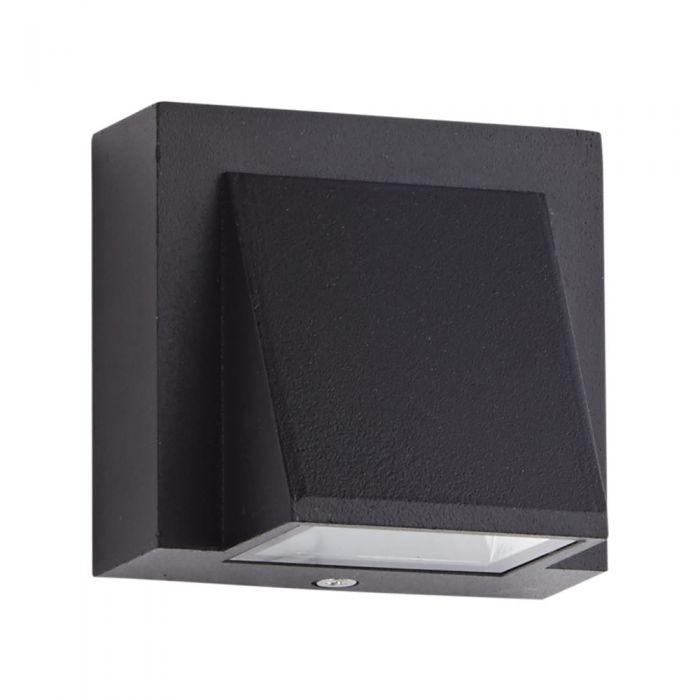 Applique Murale da Esterno Nero Ascendente o Discendente LED 6W - Architect
