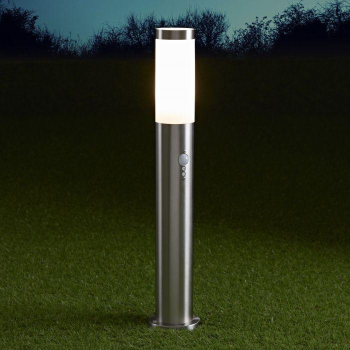 Paletto LED da Esterno 6W in Acciaio Inox con Sensore di Movimento 600mm- Le Mans