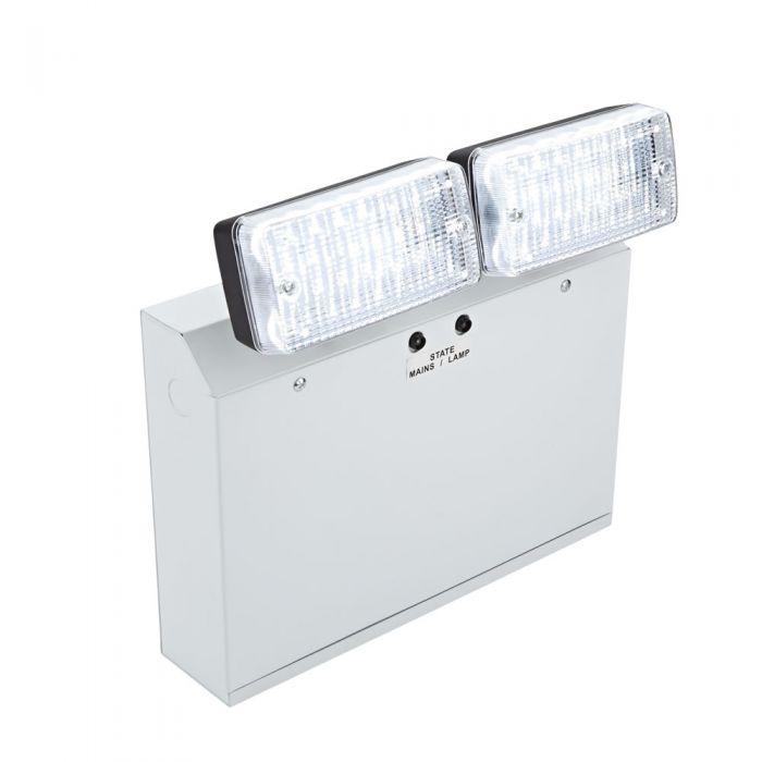 Faretto Doppio di Emergenza con luci LED Spot 10W