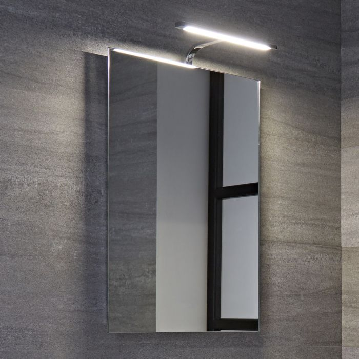 Specchio LED retroilluminato per Stanza da Bagno 500x700mm - Biwa