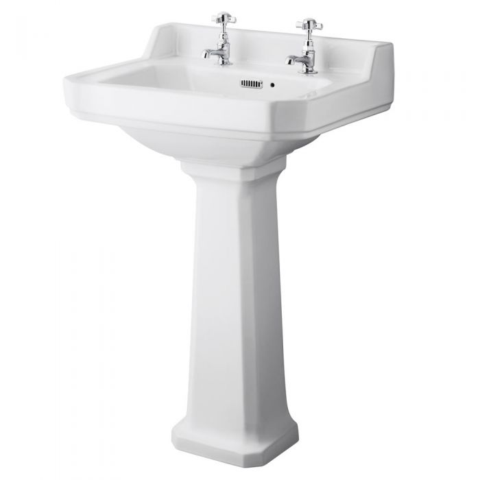 Lavabo su Colonna 56cm Old London