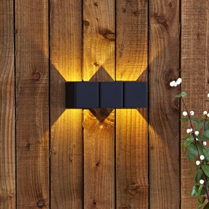 Applique Doppio Murale Bidirezionale LED 8W - Prism