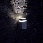 Applique LED Design Quadrata da Parete per Esterno Colore Nero - Architect