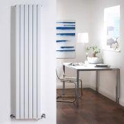 Radiatore di Design Verticale Doppio - Bianco - 1600mm x 354mm x 72mm - 1193 Watt - Sloane