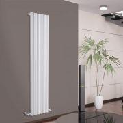 Radiatore di Design Verticale - Bianco - 1600mm x 354mm x 81mm - 958 Watt - Savy