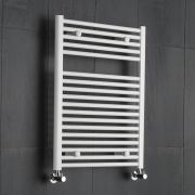 Radiatore Scaldasalviette Piatto - Bianco - 800mm x 600mm x 30mm - 567 Watt - Etna