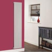 Radiatore di Design Verticale  - Bianco - 1780mm x 342mm x 84mm - 1177 Watt - Fin