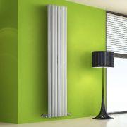 Radiatore di Design Verticale - Bianco - 1780mm x 420mm x 60mm - 1050 Watt - Rombo
