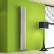 Radiatore di Design Verticale - Bianco - 1600mm x 280mm x 60mm - 630 Watt - Rombo