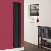 Radiatore di Design Verticale  - Nero - 1780mm x 342mm x 84mm - 1177 Watt - Fin