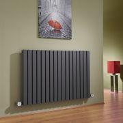 Radiatore di Design Elettrico Orizzontale - Antracite - 635mm x 1000mm x 54mm - Sloane