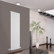 Radiatore di Design Verticale - Bianco - 1600mm x 472mm x 80mm - 1278 Watt - Savy