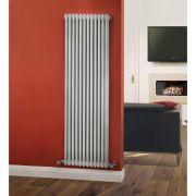 Radiatore di Design Verticale a 3 Colonne Tradizionale - Bianco - 1800mm x 563mm x 100mm - 2338 Watt - Regent