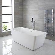 Vasca Centro Stanza Rettangolare Moderna 1615 x 720mm x 585mm - Sandford