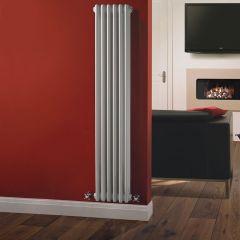 Radiatore di Design Verticale a 3 Colonne Tradizionale - Bianco - 1500mm x 293mm x 100mm - 1041 Watt - Regent