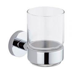 Bicchiere Porta Spazzolino e Porta Bicchiere Murale