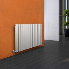 Radiatore di Design Orizzontale Doppio - Bianco - 635mm x 834mm x 78mm - 1304 Watt - Revive
