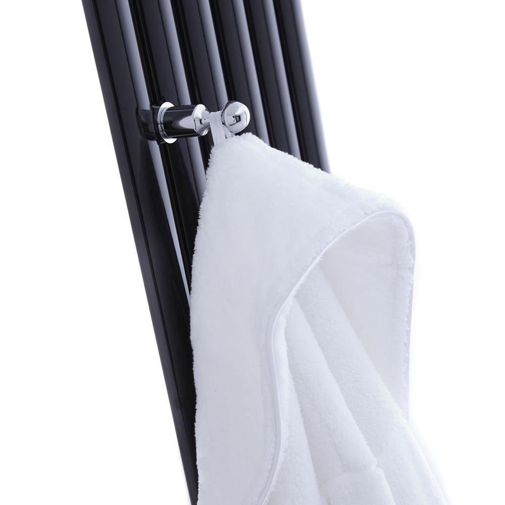 Appendino Cromato per Asciugamani e Accappatoi per Radiatori Verticali Revive