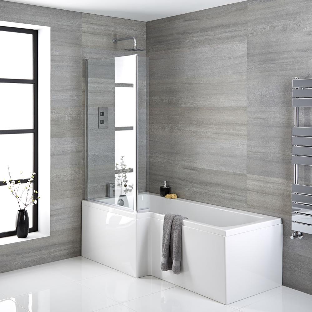kit vasca completo di vasca 1700mm pannelli vasca e parete vasca sinistra. Black Bedroom Furniture Sets. Home Design Ideas