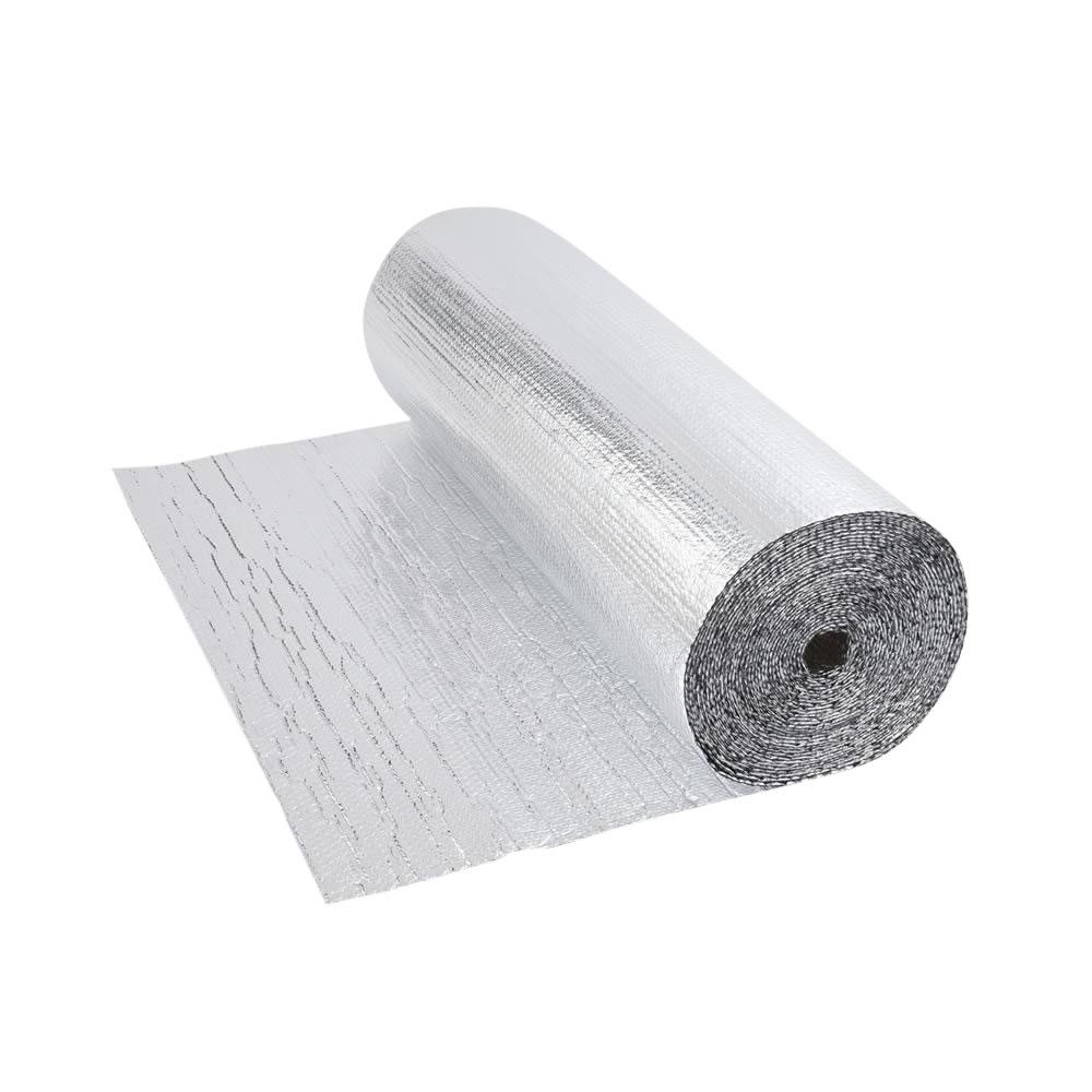 Isolante Termico in Alluminio con Strati di Bolle d'Aria - 5m x 1,2m - 6m2
