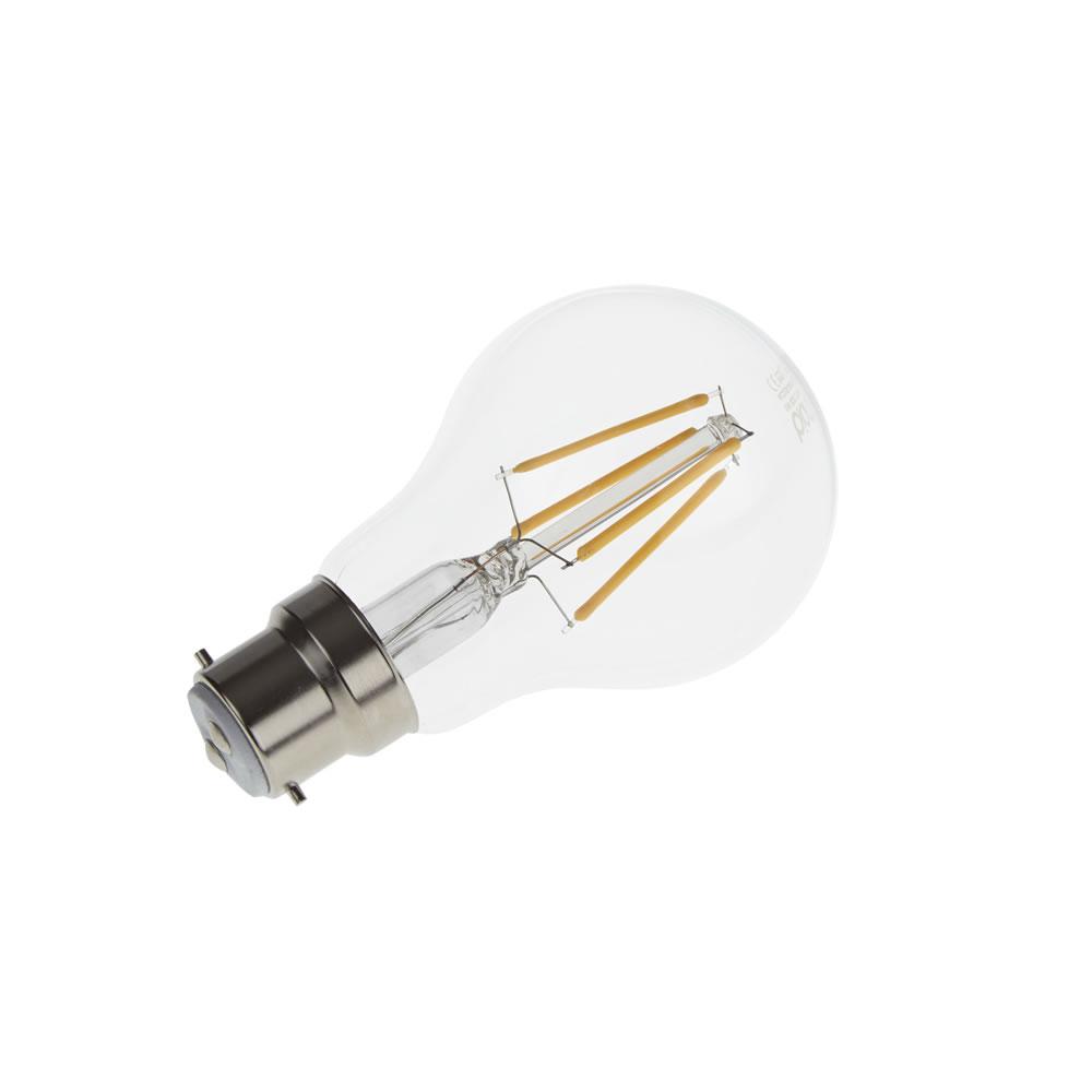 Biard Kit con 6 Lampadine con Filamento LED B22 6W Dimmerabili
