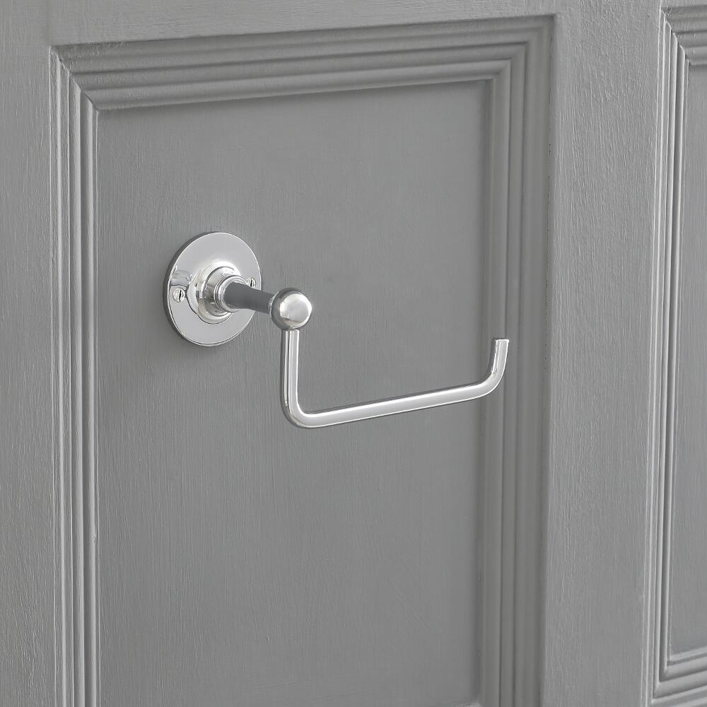 Porta Rotolo Carta Igienica Murale Design Minimalista
