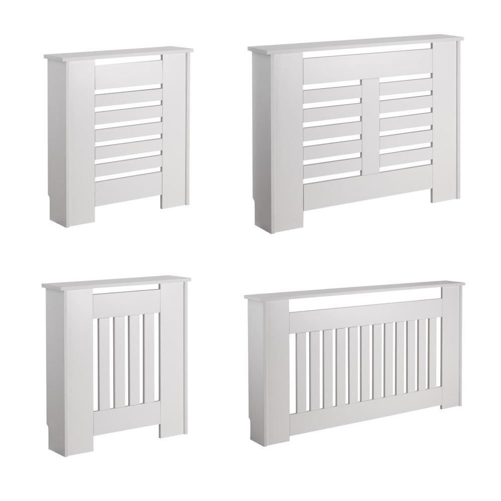 Copriradiatore Bianco Disponibile in Diverse Misure - Newham e Sutton