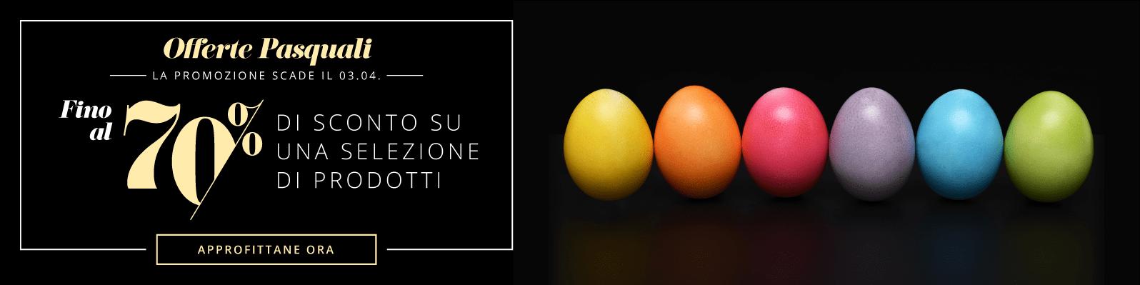 Offerte Pasquali - Fino al 70% di sconto su una selezione di prodotti