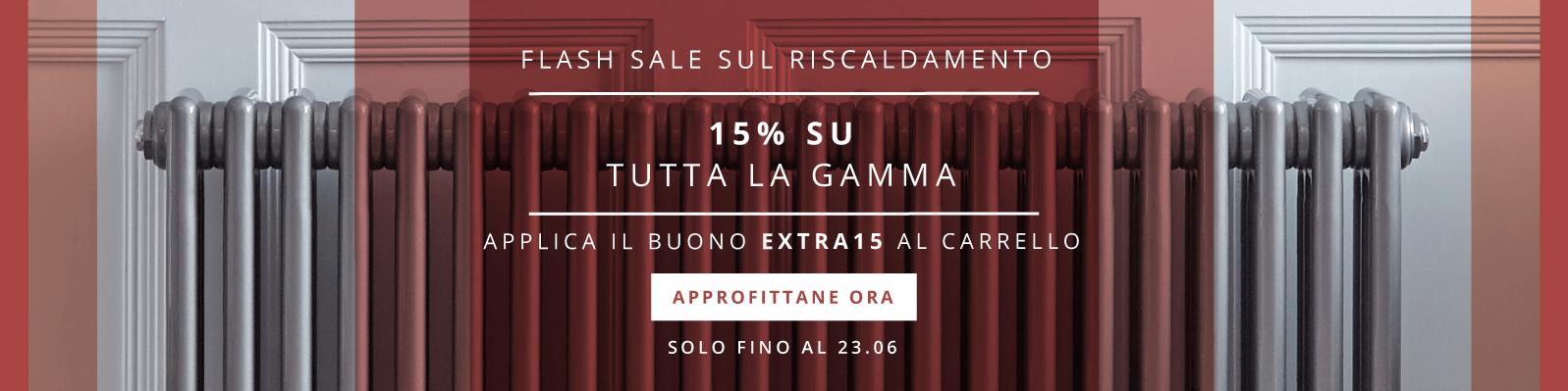 15% Su Tutta La Gamma - Applica Il Buono EXTRA15 Al Carrello